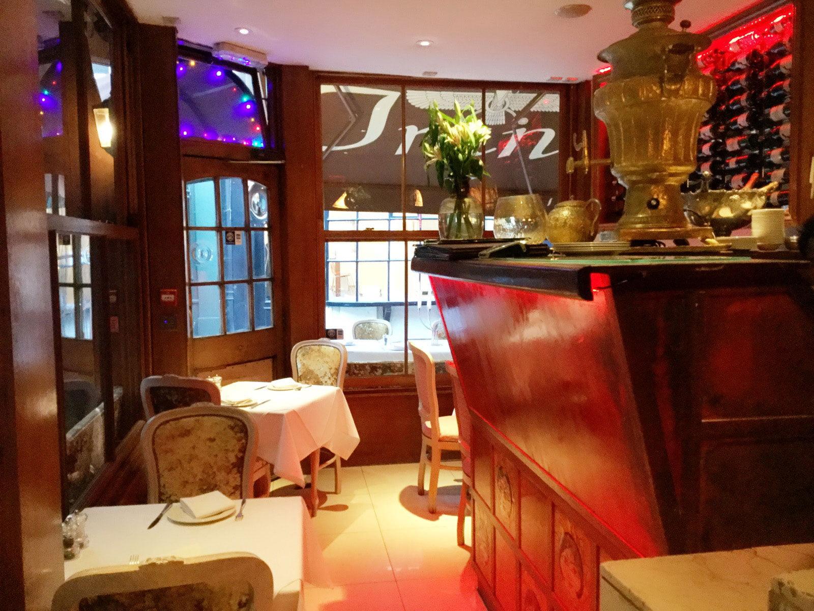 رستوران ایران در لندن
