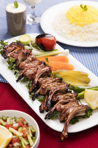رستوران کاخ ایرانی در لندن