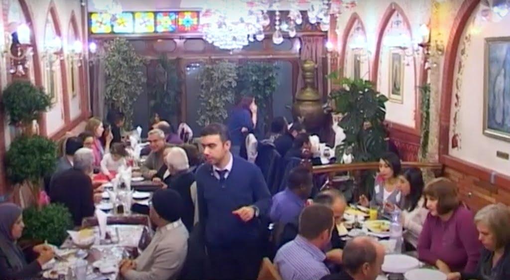 رستوران مهدی در لندن
