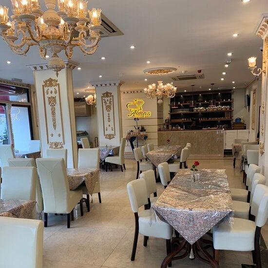 رستوران الماس در لندن